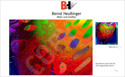 Bernd Heussinger Maler und Illustrator Wulfsen